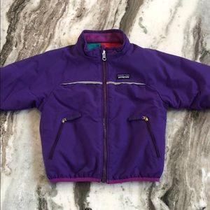 Patagonia reversible fleece/nylon jacket! Vintage!